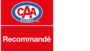Recommended by CAA-Quebec
