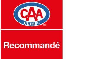 Recommandé par le CAA Québec